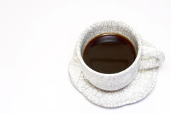 Coffee cup isolated. On white background stock images