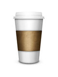Coffee cup isolated over white background Stock Photo