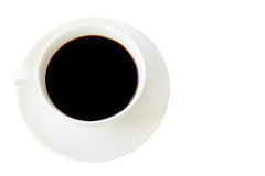Coffee cup isolated white background. Coffee cup isolated white on background Royalty Free Stock Photos
