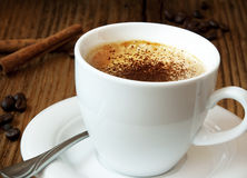 Coffee Cup.Italian Cappuccino Royalty Free Stock Images