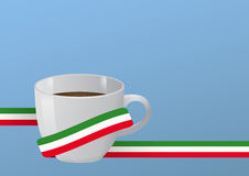 Coffee cup italy Royalty Free Stock Photography