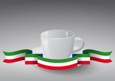 Coffee cup italy Royalty Free Stock Images