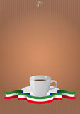 Coffee cup italy Royalty Free Stock Photos