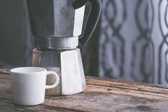Coffee Cup, Kettle, Small Appliance, Serveware Royalty Free Stock Photos