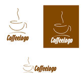 Coffee cup logo Stock Photos