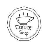 Coffee shop logo vector, coffee cup icon design, web icon. Business sign vector illustration