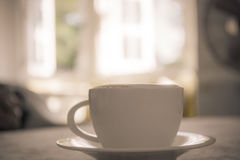 Free Coffee Cup On Table In Cafe Shop Stock Photo - 87375940