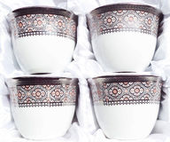 Coffee-cup. Pair of coffee cup in pack Stock Photos