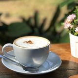 Coffee cup. Relax royalty free stock image