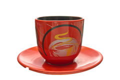Coffee Cup on a saucer. Stock Image