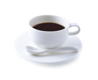 Coffee cup and saucer Stock Image