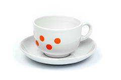 Coffee cup and saucer Royalty Free Stock Photo