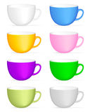 Coffee cup set Royalty Free Stock Photography