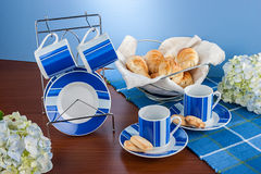 Coffee Cup Set Stock Images