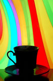 Coffee cup silhouette Stock Photo