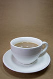 Coffee. A cup of coffee or a snack while working Royalty Free Stock Photography