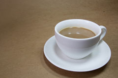 Coffee. A cup of coffee or a snack while working Royalty Free Stock Images