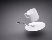 Coffee cup spread concept Stock Image