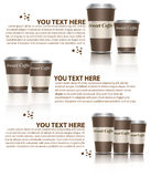 Coffee cup. Sweet coffee for business  vector Royalty Free Stock Photo