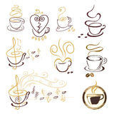 Coffee cup symbol Stock Photo