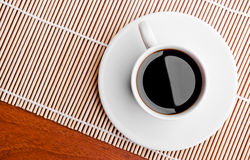 Coffee cup on a table Royalty Free Stock Image