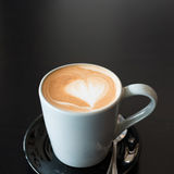 Coffee cup on table Royalty Free Stock Photo