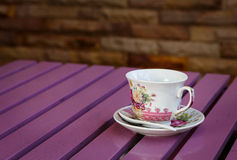 Coffee Cup On Table Royalty Free Stock Image