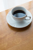 Coffee, cup, table, white, black,  espresso, drink, breakfast, morning, aroma, mu Stock Photos
