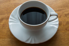 Coffee, cup, table, white, black,  espresso, drink, breakfast, morning, aroma, mu Stock Images