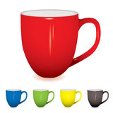 Coffee cup variation Royalty Free Stock Images