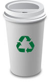 Coffee cup.Vector. Royalty Free Stock Image