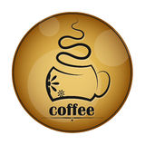 Coffee cup vector Stock Images