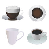 Coffee cup vector Royalty Free Stock Photography