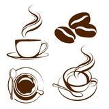 Coffee cup vector Stock Photo
