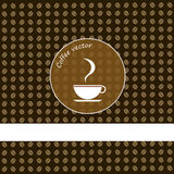 Coffee cup vector design Stock Image
