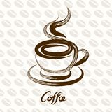 Coffee cup vector Royalty Free Stock Images
