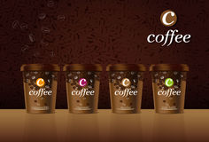 Coffee cup. Vector illustration -  Created with adobe illustrator. background, are Created separately Royalty Free Stock Photo