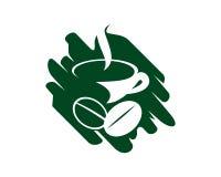 Coffee cup vector logo design template Design Vector Royalty Free Stock Photo