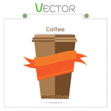Coffee cup vector templates set design vector Royalty Free Stock Photo