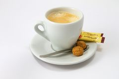 A coffee cup Royalty Free Stock Photo