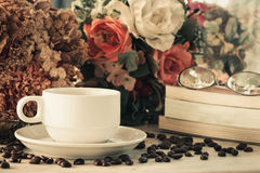 Coffee cup vintage Royalty Free Stock Photography