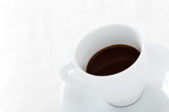Coffee Cup on White Background Stock Photography