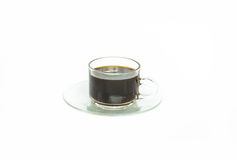 Coffee cup on white background Stock Photos