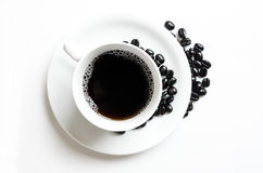 Coffee. Cup on white background Royalty Free Stock Photography
