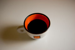 Coffee Cup on a white background Stock Image