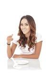 coffee cup woman young Στοκ Εικόνες