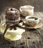 Coffee cupcake Royalty Free Stock Photos