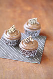 Coffee Cupcakes Stock Image