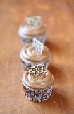 Coffee Cupcakes Royalty Free Stock Photos
