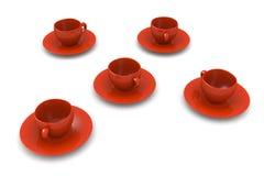 Coffee Cups Stock Photos